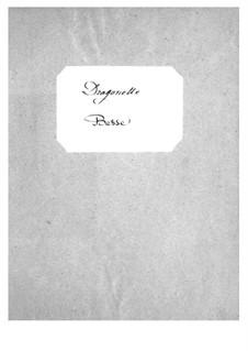 Dragonette: parte violoncelos e contrabaixos by Jacques Offenbach