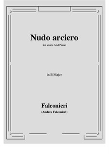 Nudo arciero: B Major by Andrea Falconieri