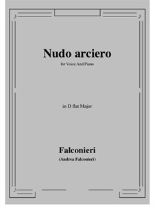 Nudo arciero: D flat Major by Andrea Falconieri