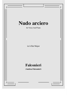 Nudo arciero: A flat Major by Andrea Falconieri