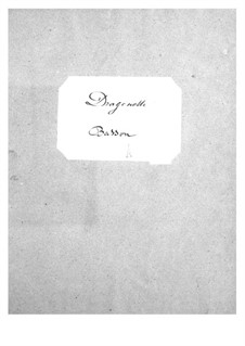 Dragonette: parte fagote by Jacques Offenbach
