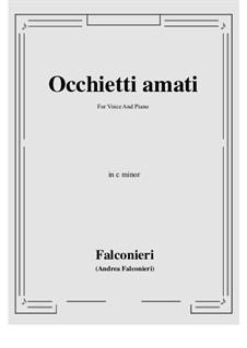 Occhietti amati: C minor by Andrea Falconieri