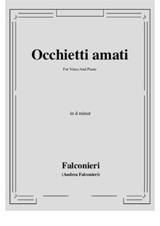 Occhietti amati: D minor by Andrea Falconieri