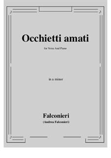 Occhietti amati: A minor by Andrea Falconieri