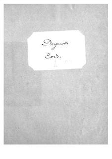 Dragonette: parte trompa by Jacques Offenbach