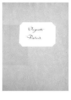 Dragonette: parte cornetas by Jacques Offenbach