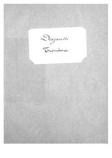Dragonette: parte trombone by Jacques Offenbach