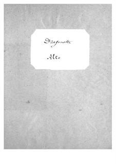 Dragonette: parte violas by Jacques Offenbach