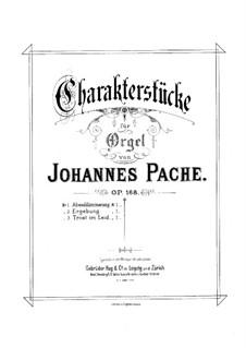 Ergebung für Orgel, Op.168 No.2: Ergebung für Orgel by Johannes Pache