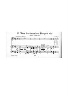 Wenn ich einmal der Herrgott wär': Wenn ich einmal der Herrgott wär' by Carl Binder