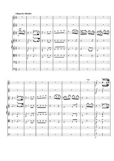 Concerto for Flute and Orchestra No.2 in D Major, K.314: Movement III by Wolfgang Amadeus Mozart