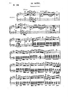 Geneviève de Brabant: ato II - piano-vocal partitura by Jacques Offenbach