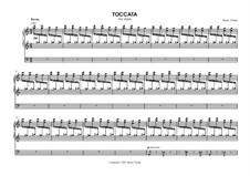 Toccata for organ: Toccata para òrgão by Bruno Vlahek