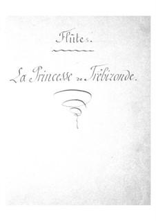 La princesse de Trébizonde: parte flauta by Jacques Offenbach