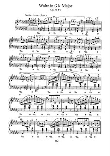 Waltzes, Op. posth.70: set completo by Frédéric Chopin