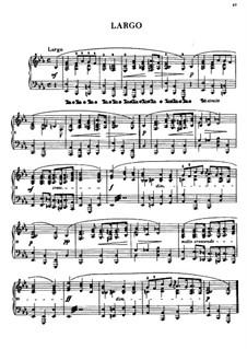 Largo in E Flat Major, B.109 KK. IVb/5: Para Piano by Frédéric Chopin