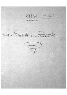 La princesse de Trébizonde: parte violas by Jacques Offenbach