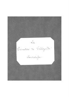 La princesse de Trébizonde: Parte contrabaixo by Jacques Offenbach