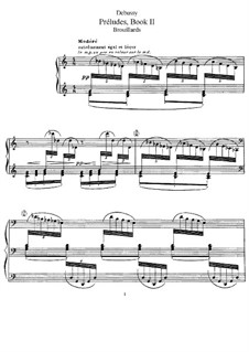 Preludes, L.123: set completo by Claude Debussy