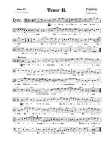 Assumpta est Maria: tenor parte II by Giovanni da Palestrina