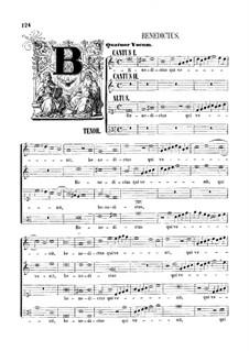 Assumpta est Maria: Benedictus by Giovanni da Palestrina
