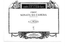 Sonata da camera No.1 in D Minor: Sonata da camera No.1 in D Minor by Albert Lister Peace
