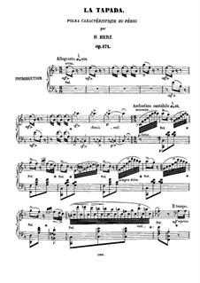 La Tapada, Op.171: Para Piano by Henri Herz