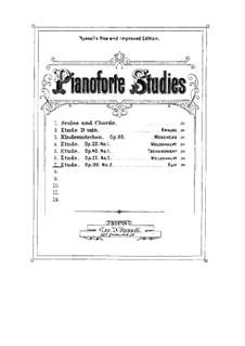 Two Melodic Etudes, Op.130: Estudo No.2 by Joseph Joachim Raff