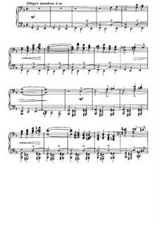 À Argenteau, Op.40: No.1 Le cèdre by César Cui