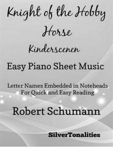 No.9 Ritter vom Steckenpferd (Knight of the Hobbyhorse): Facil para o piano by Robert Schumann