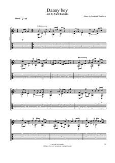 Danny Boy (Londonderry Air): Para Guitarra by folklore