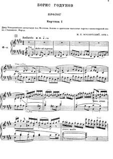 Complete Opera: para vozes e piano by Modest Mussorgsky