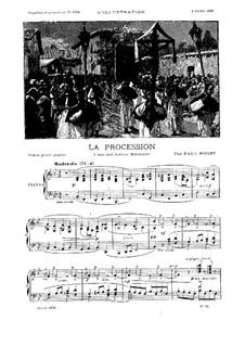 La procession: La procession by Paul Puget