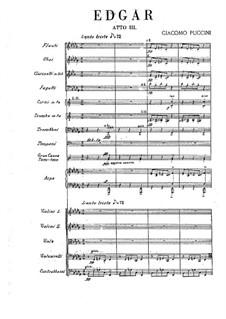 Edgar: Ato III by Giacomo Puccini