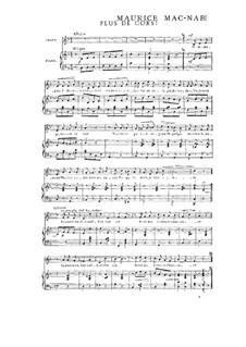 Book II: No.4 Plus de cors by Maurice Mac-Nab