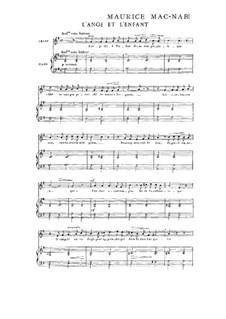Book II: No.6 L'Ange et l'Enfant by Maurice Mac-Nab