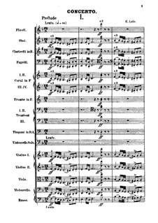 Cello Concerto in D Minor: partitura by Édouard Lalo