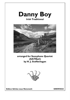Ensemble version: For saxophone quartet (AATBar) by folklore