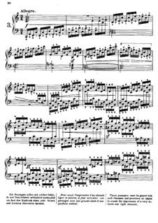 Tausig Edition: Estudo No.3 by Muzio Clementi