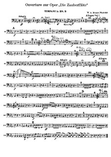 Overture: Peça para Timpano by Wolfgang Amadeus Mozart