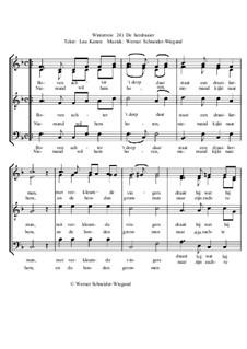 Winterreise, Nr.26-97, Op.23: Nr.91 De lierdraaier by Werner Schneider-Wiegand