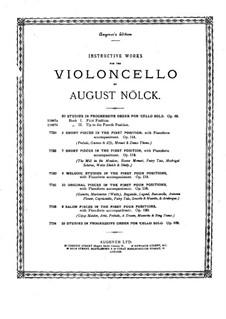 Seven Short Pieces, Op.112: Score by August Nölck