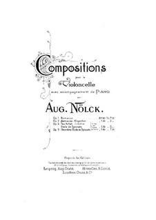 Twenty-Four Etudes. Etude No.2, Op.3: Score by August Nölck