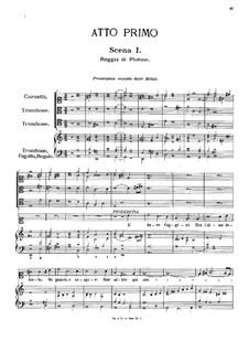 Il pomo d'oro (The Golden Apple): ato I by Pietro Antonio Cesti
