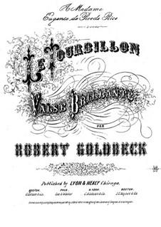 Le Tourbillon: Le Tourbillon by Robert Goldbeck