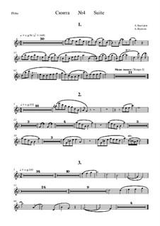 Suite No.4: parte flauta by Alexander Bystrov