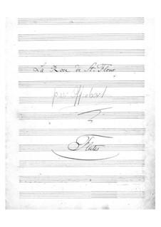 La rose de Saint-Flour: parte flauta by Jacques Offenbach