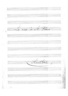 La rose de Saint-Flour: parte Oboe by Jacques Offenbach