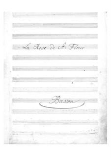 La rose de Saint-Flour: parte fagote by Jacques Offenbach