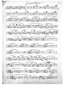 La rose de Saint-Flour: violinos parte I by Jacques Offenbach